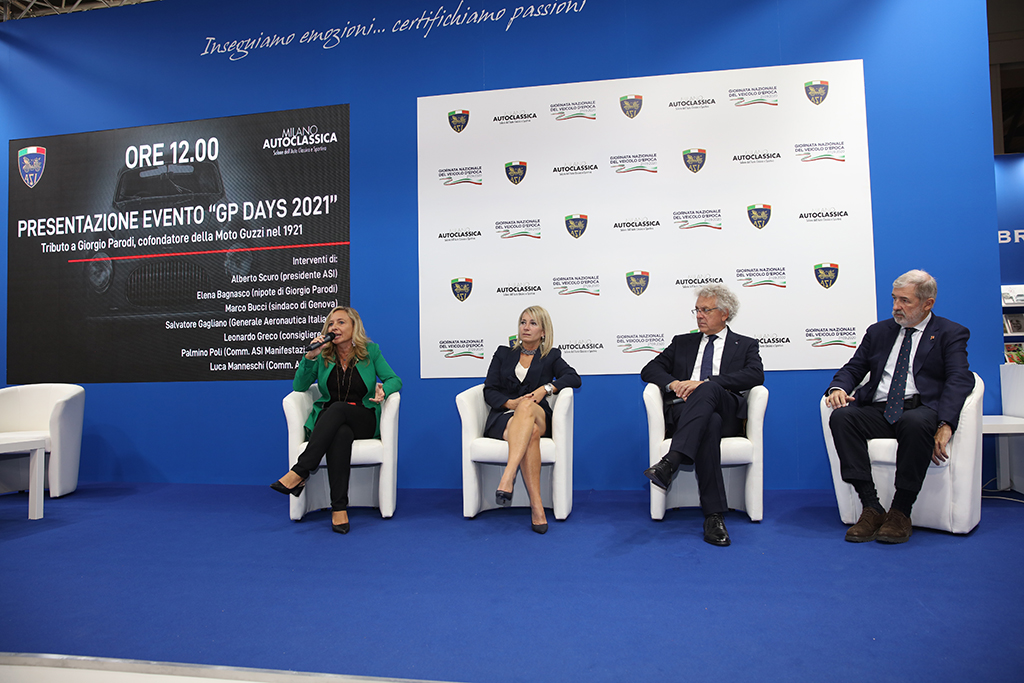 """La presentazione del """"GP Days 2021"""" a Milano AutoClassica"""