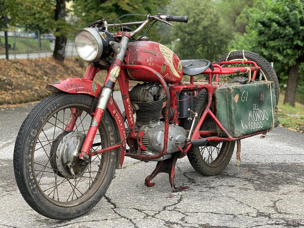 La Ducati 175 del giro del mondo 1957-1958
