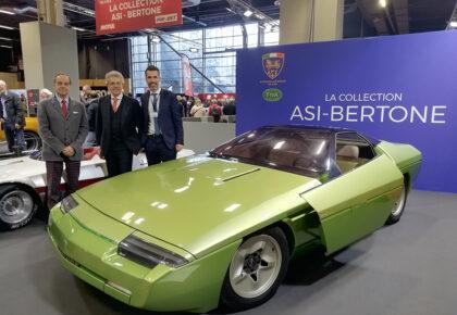 La Collezione ASI Bertone a Retromobile Paris