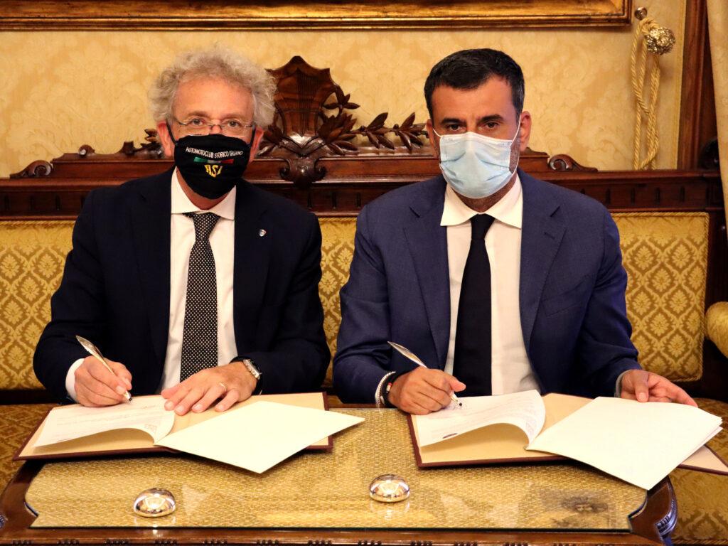 Antonio Decaro (presidente ANCI) e Alberto Scuro (presidente ASI)