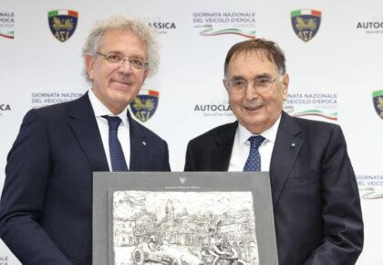Premio ASI per il Motorismo Storico a Giampaolo Dallara