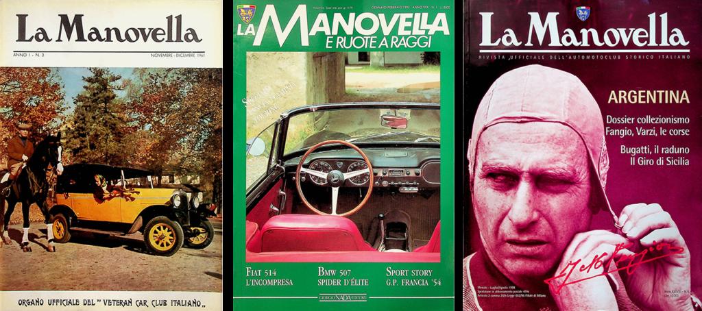 La Manovella rivista ufficiale dell'ASI
