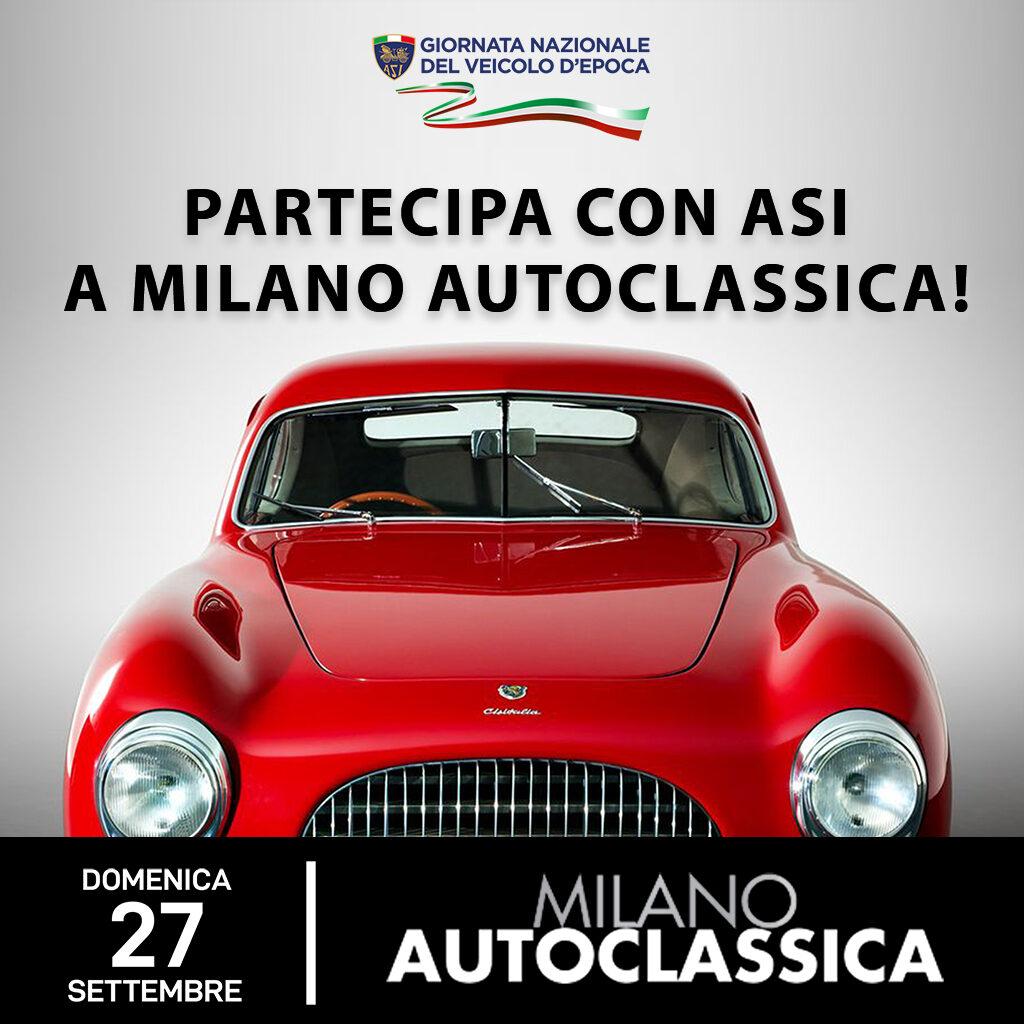 Con ASI a Milano AutoClassica 2020