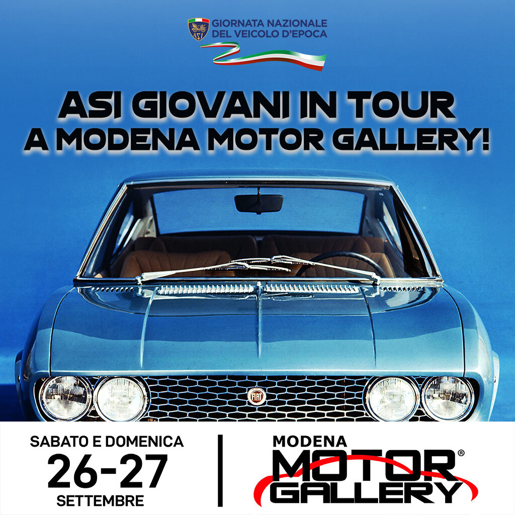 ASI Giovani in tour a Modena Motor Gallery 2020
