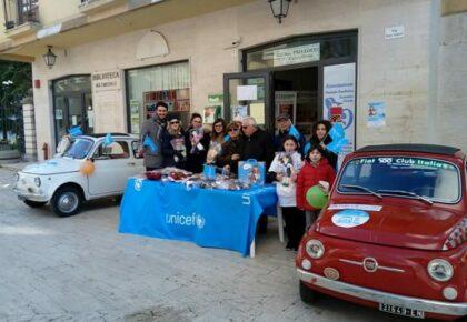 Fiat 500 Club Italia per la Giornata dei diritti dell'infanzia e dell'adolescenza