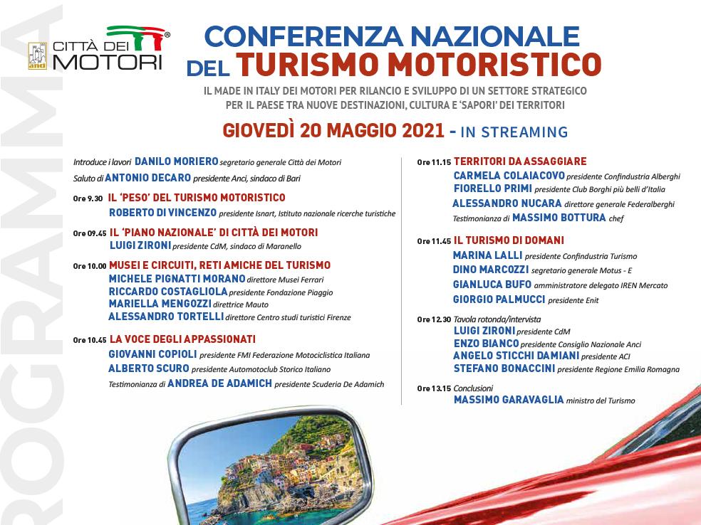 Conferenza Nazionale del Turismo Motoristico
