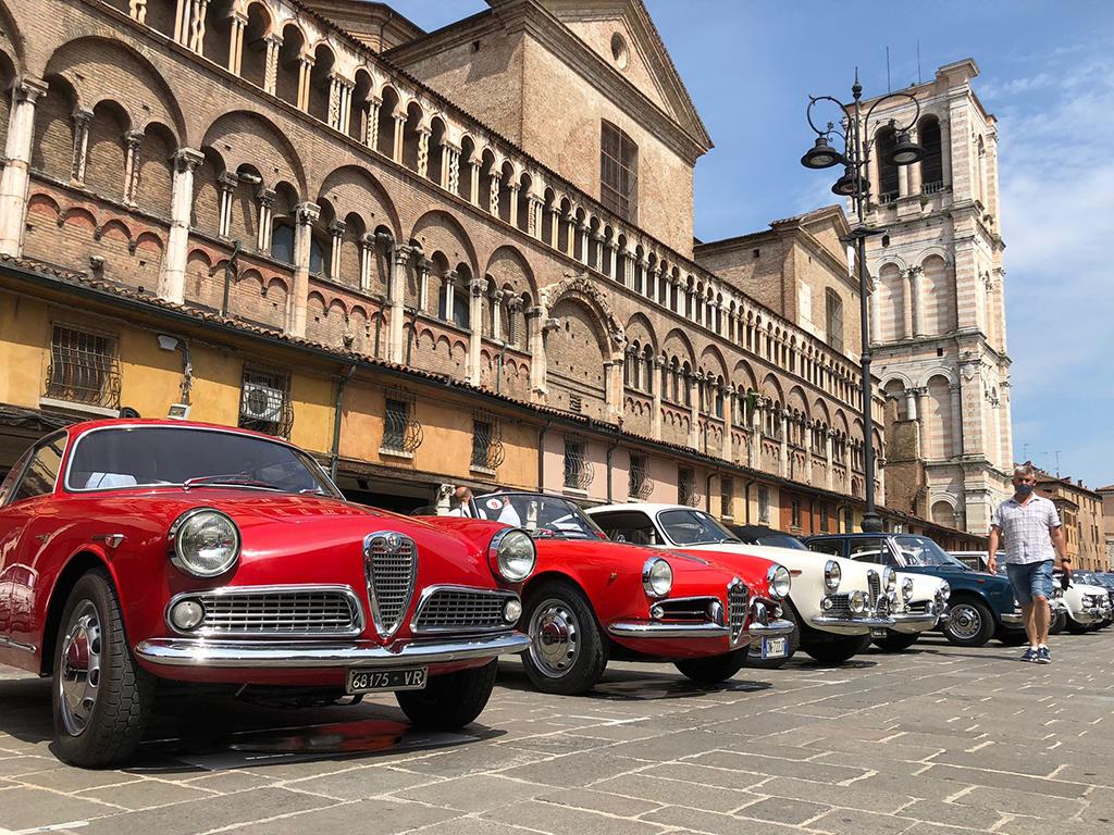 Storiche in centro storico a Ferrara