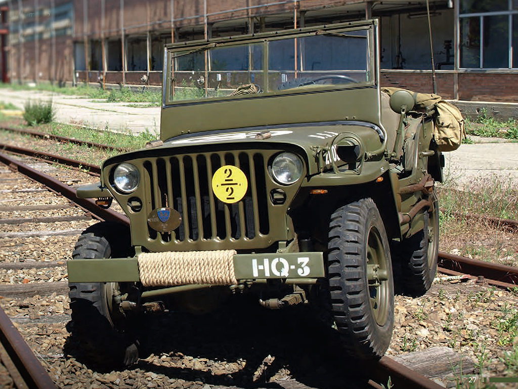 80 anni Jeep Willys