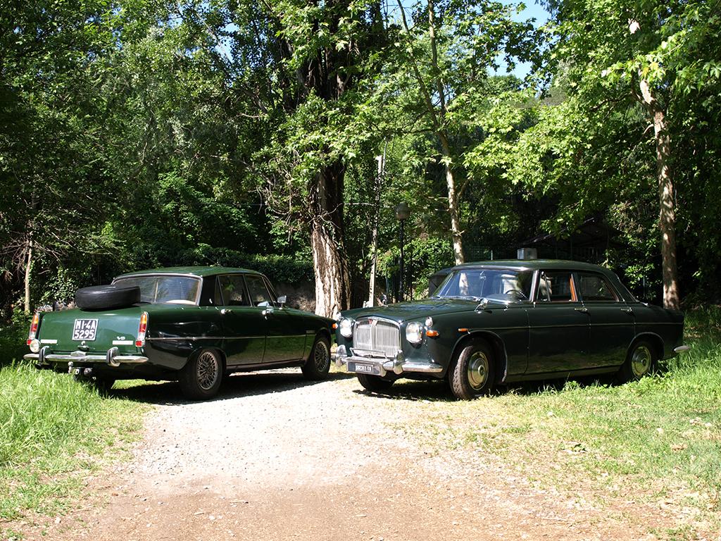 Rover P5 e P6